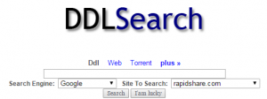 Uploaded Suchmaschinen: DDL Search Free
