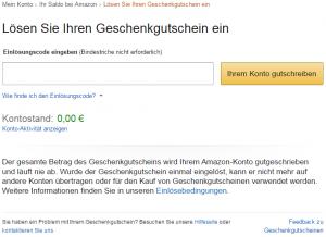 Gutschein Amazon Kindle Einlösen