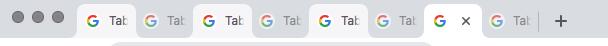 Gleichzeitige Auswahl diverser Google Chrome Tabs
